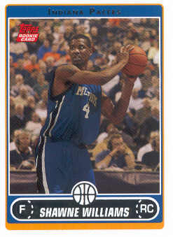 2006-07 Topps #222 Shawne Williams RC front image