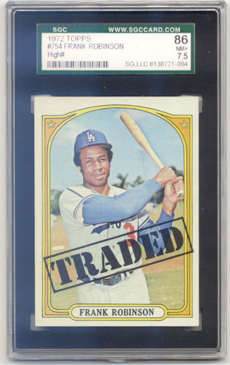 1972 Topps #754 Frank Robinson TR