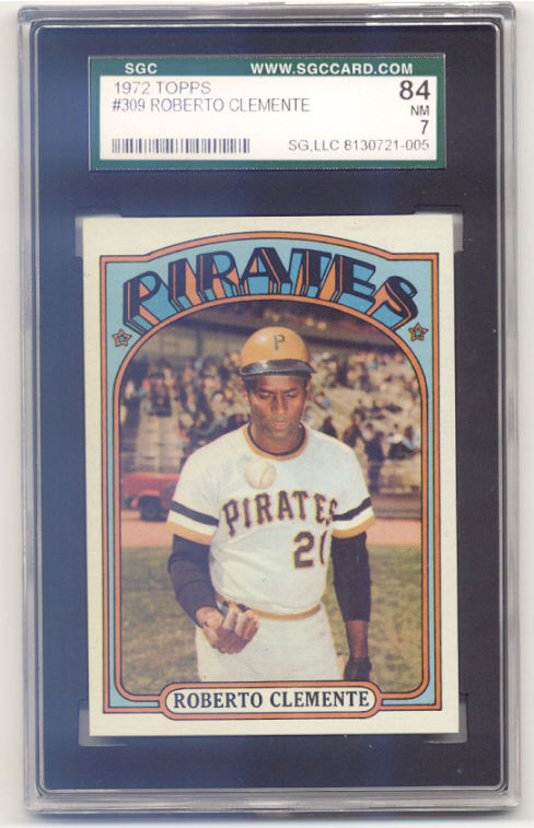 1972 Topps #309 Roberto Clemente