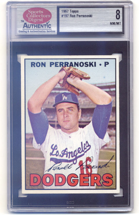 1967 Topps #197 Ron Perranoski
