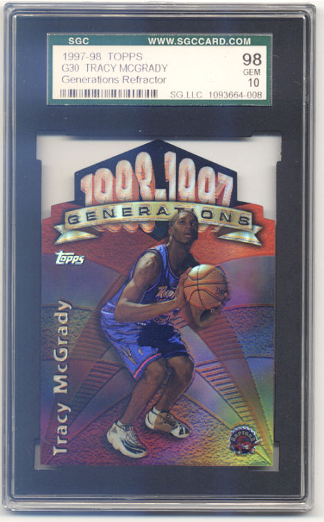 1997-98 Topps Generations Refractors #G30 Tracy McGrady