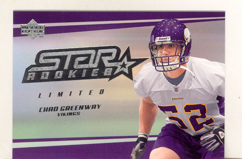 2006 Upper Deck #204 Chad Greenway RC