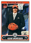 2006-07 Topps #216B Adam Morrison Draft RC
