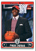 2006-07 Topps #231B Tyrus Thomas Draft RC