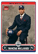 2006-07 Topps #243B Marcus Williams Draft RC