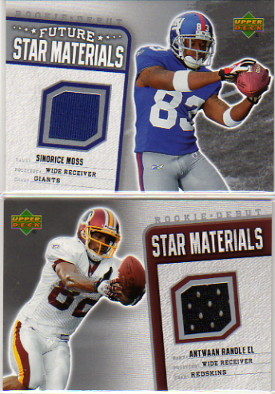 2006 Upper Deck Rookie Debut Star Materials Silver #SMRE Antwaan Randle El