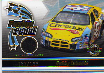 2006 Wheels American Thunder Pushin' Pedal #PP15 Bobby Labonte