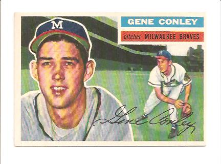 1956 Topps #17 Gene Conley