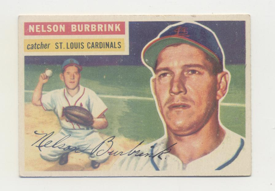 1956 Topps #27 Nelson Burbrink DP RC