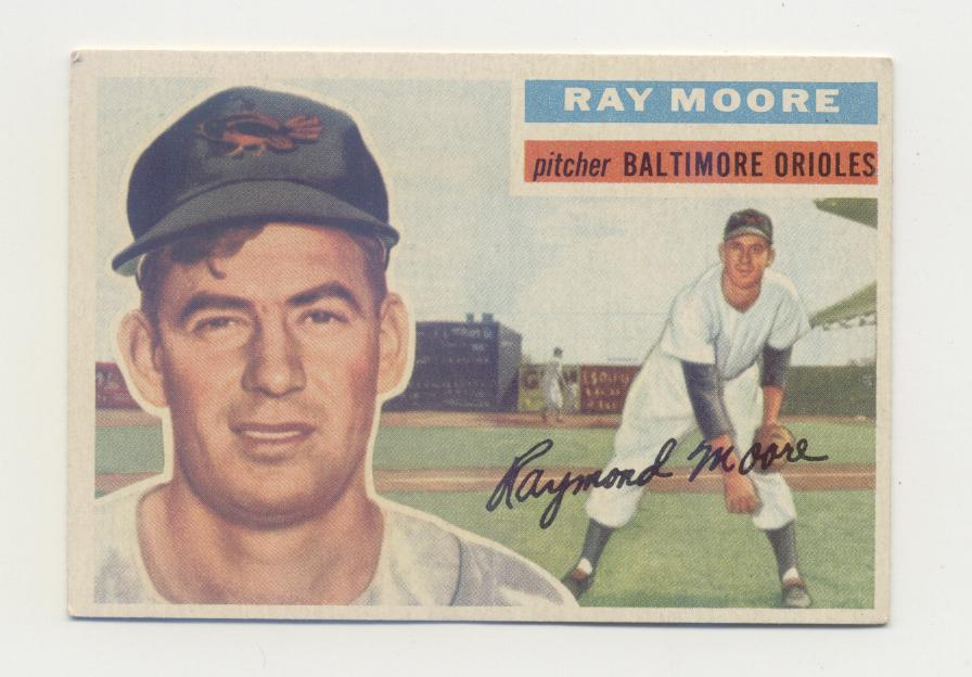 1956 Topps #43 Ray Moore
