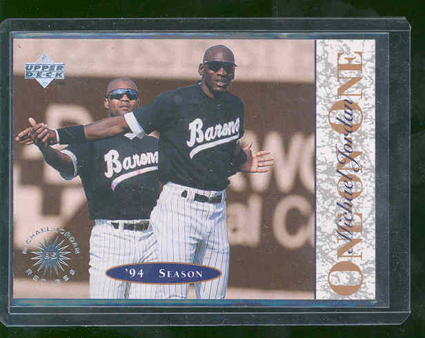 1995 Upper Deck Baseball Barons Rookie CARD Nice Mint Card