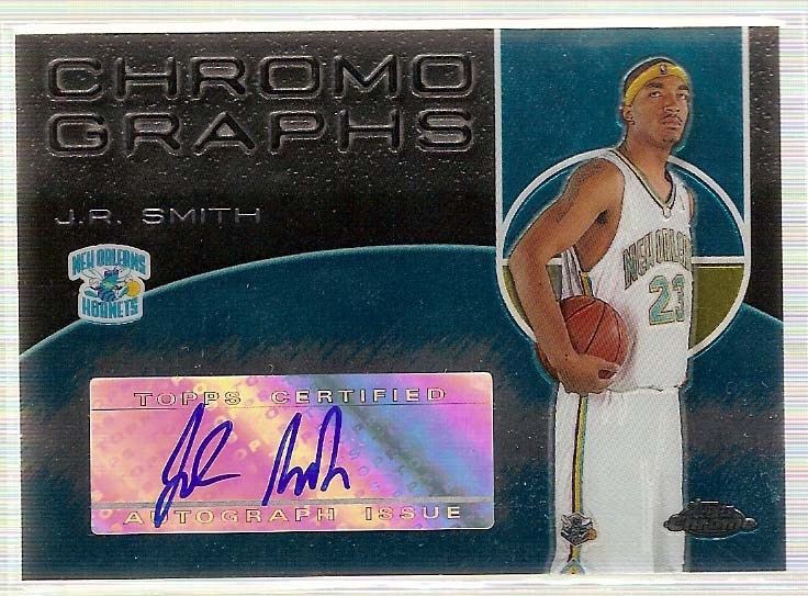 2004-05 Topps Chrome Autographs #JRS J.R. Smith C