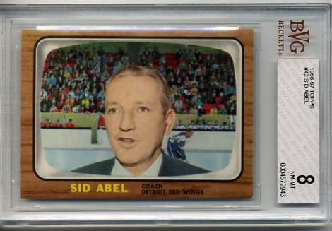 1966-67 Topps #42 Sid Abel CO