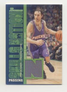 2005-06 Bowman Skills Nation Relics #SN Steve Nash