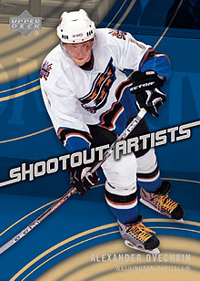 2006-07 Upper Deck Shootout Artists #SA4 Alexander Ovechkin front image
