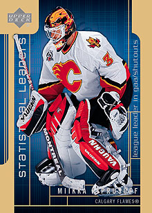 2006-07 Upper Deck Statistical Leaders #SL6 Miikka Kiprusoff