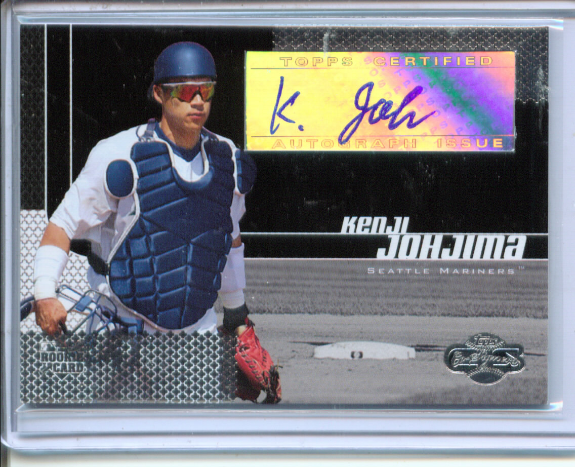2006 Topps Co-Signers #109 Kenji Johjima AU A/200 RC *