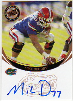 2006 Press Pass Autographs Bronze #14 Mike DeGory