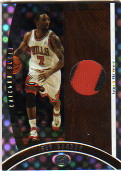2006-07 Bowman Elevation Executive Level Patches #PBG Ben Gordon