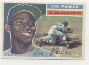 1956 Topps #67 Vic Power