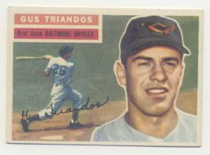 1956 Topps #80 Gus Triandos DP