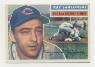 1956 Topps #86 Ray Jablonski DP