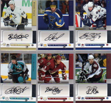 2005-06 Be A Player Signatures #AM Alyn McCauley