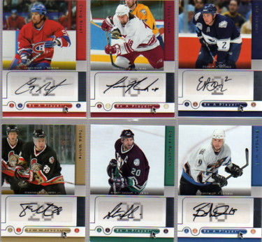 2005-06 Be A Player Signatures #BW Brendan Witt