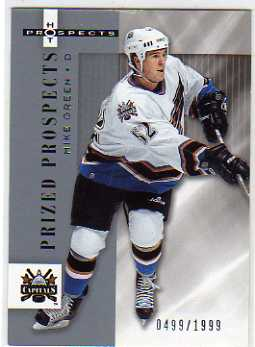2005-06 Hot Prospects #183 Mike Green RC