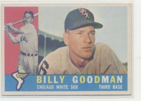 1960 Topps #69 Billy Goodman
