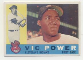 1960 Topps #75 Vic Power
