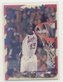 1995-96 Ultra USA Basketball #6 Shaquille O'Neal