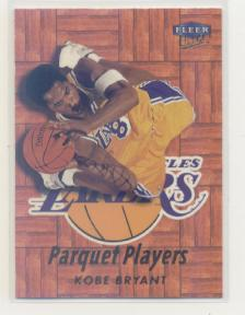1999-00 Ultra Parquet Players #1 Kobe Bryant