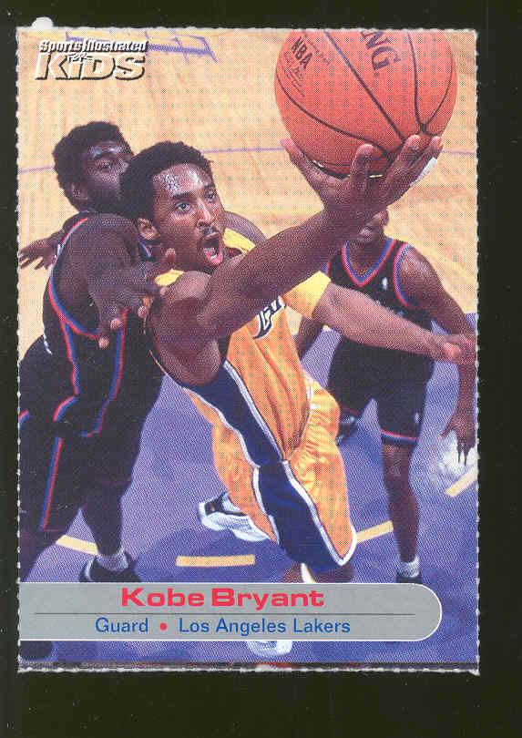 Sports Illustrated for Kids #59 Kobe Bryant Lakers RARE