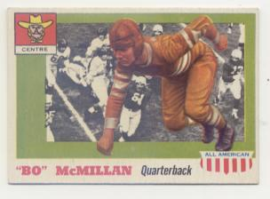 1955 Topps All American #47 Bo McMillin RC
