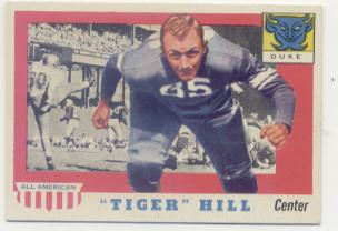 1955 Topps All American #60 Dan Hill RC