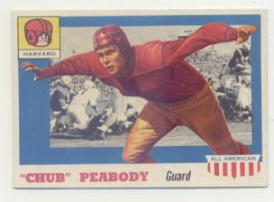 1955 Topps All American #72 Chub Peabody RC