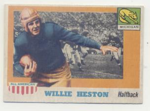1955 Topps All American #93 Willie Heston SP RC