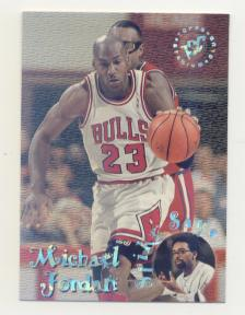 1995-96 Stadium Club Spike Says #SS1 Michael Jordan