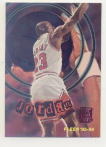 1995-96 Fleer Total O Hot Pack #2 Michael Jordan