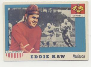 1955 Topps All American #15 Ed Kaw SP