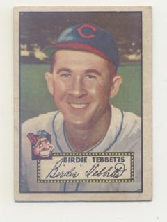 1952 Topps #282 Birdie Tebbetts SP front image