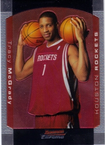 2004-05 Bowman Chrome #50 Tracy McGrady