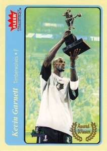 2004-05 Fleer Tradition Blue #209 Kevin Garnett AW