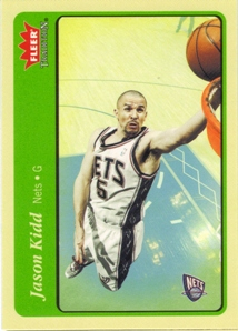 2004-05 Fleer Tradition Green #45 Jason Kidd