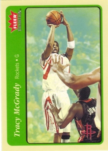 2004-05 Fleer Tradition Green #132 Tracy McGrady