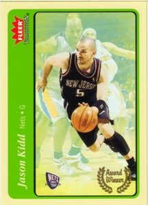 2004-05 Fleer Tradition Green #211 Jason Kidd AW