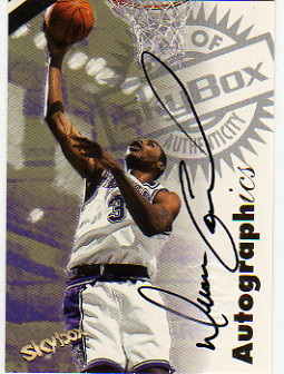 1997-98 SkyBox Premium Autographics #21 Duane Causwell