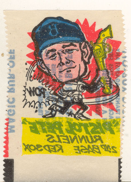 1961 Topps Magic Rub-Offs #29 Pete Runnels