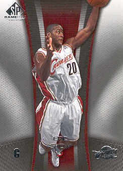 2006-07 SP Game Used #17 Eric Snow